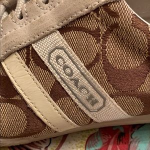 COACH sneakers 5 1/2